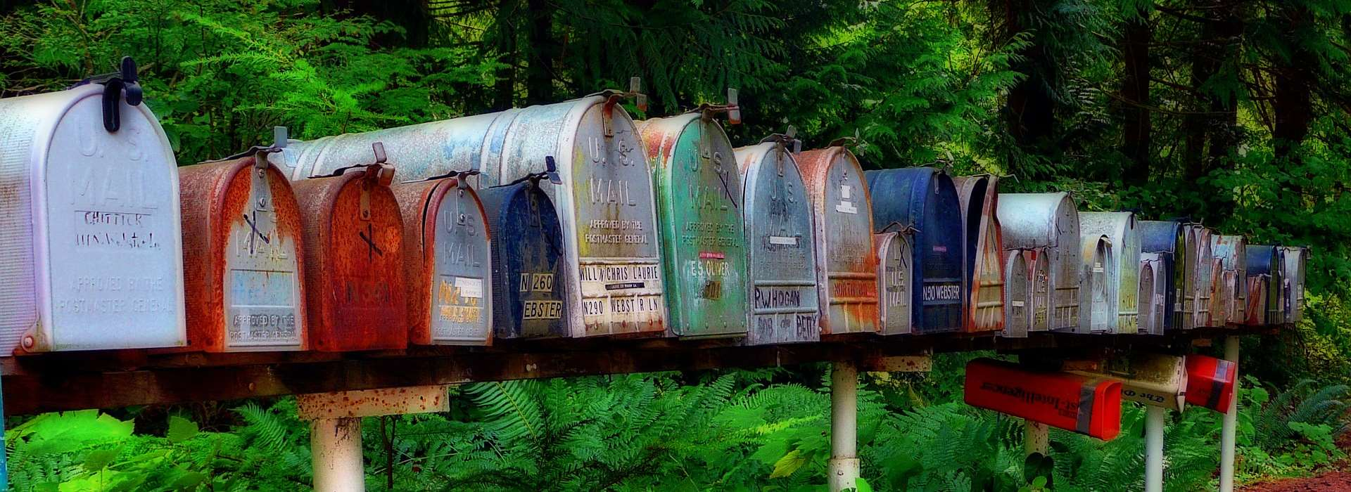 Mailboxes - Shipping